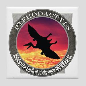 Pterodactyls Tile Coaster