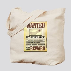 Wanted Sock Tote Bag