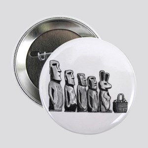 """Easter Island 2.25"""" Button"""