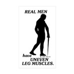 Real Men Sticker (Rectangle 50 pk)