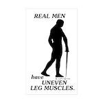 Real Men Sticker (Rectangle 10 pk)