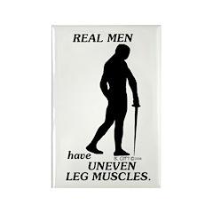 Real Men Rectangle Magnet (10 pack)
