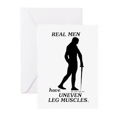 Real Men Greeting Cards (Pk of 20)