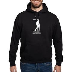 Real Men Hoodie (dark)