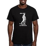 Real Men Men's Fitted T-Shirt (dark)