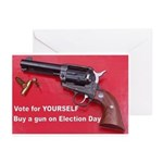 Vote For Yourself Greeting Cards (Pk of 10)