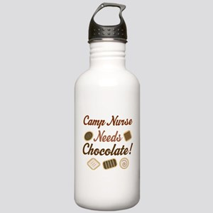 Camp Nurse Gift Funny Stainless Water Bottle 1.0L