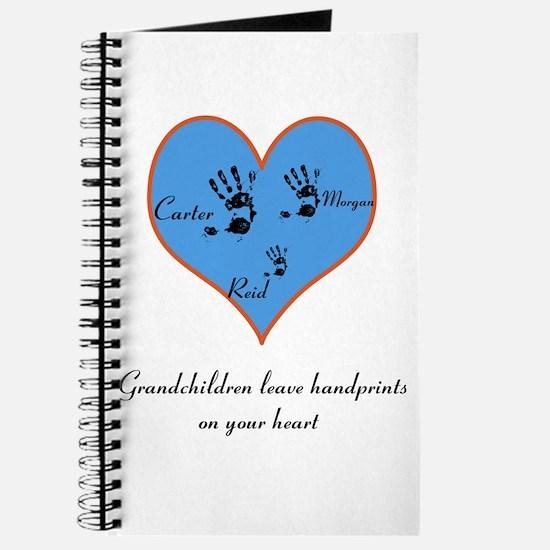 Personalized handprints Journal