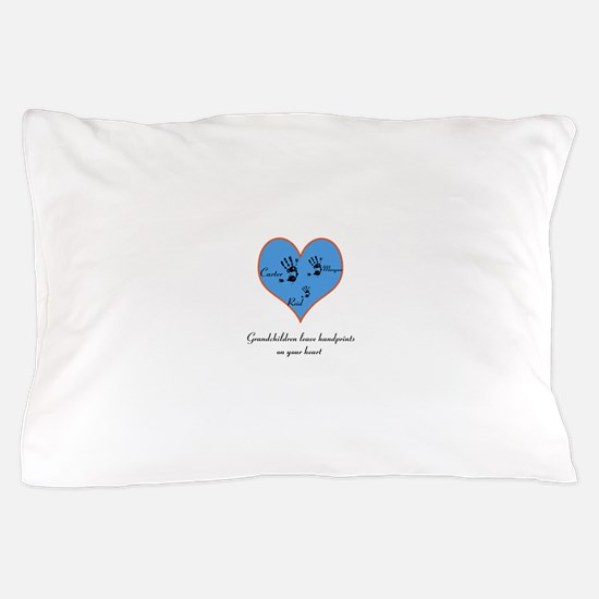 Personalized handprints Pillow Case