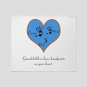 personalized grandma blankets cafepress