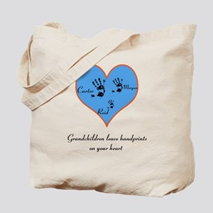 Personalized handprints Tote Bag