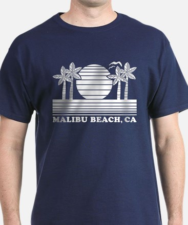 Malibu Beach CA T-Shirt