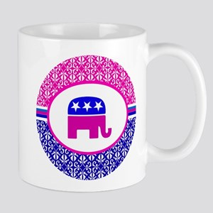Damask Republican Clothing Mug