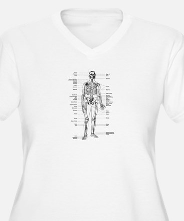 Skeleton Diagram T-Shirt