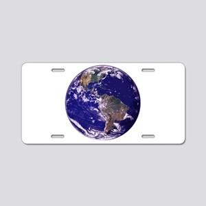 EARTH Aluminum License Plate