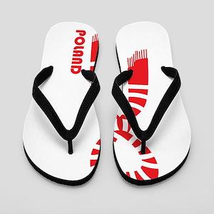 poland pride Flip Flops