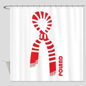 poland pride Shower Curtain