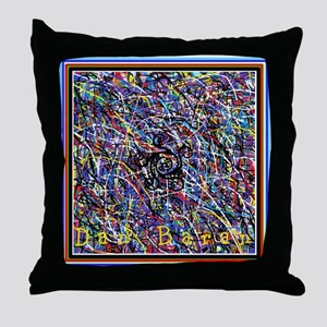 Treble With Outer Claws Throw Pillow