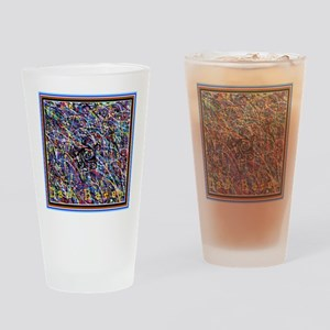 Treble With Outer Claws Drinking Glass