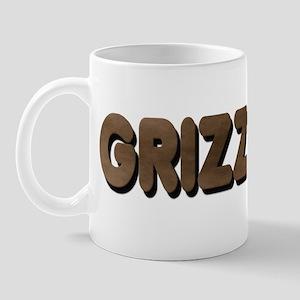 GRIZZLY-BROWN FELT LOOKING TE Mug
