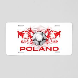 Born Polish Aluminum License Plate