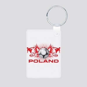 Born Polish Aluminum Photo Keychain