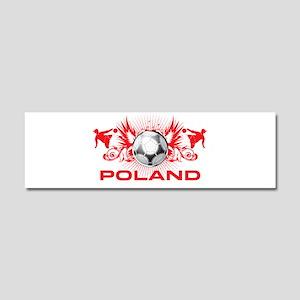 Born Polish Car Magnet 10 x 3