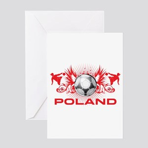 Born Polish Greeting Card