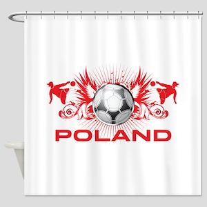 Born Polish Shower Curtain