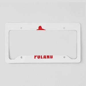 pol4 License Plate Holder