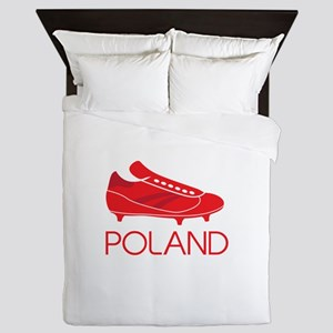 Poland Footie Queen Duvet