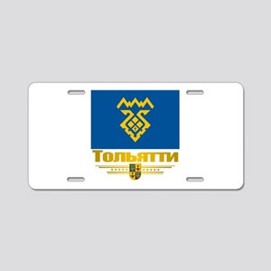 Tolyatti Flag Aluminum License Plate