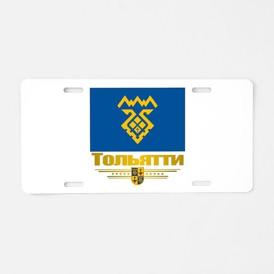Tolyatti Flag Aluminum License Plate