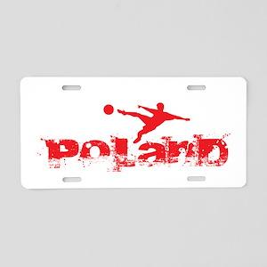 Poland Forever Aluminum License Plate