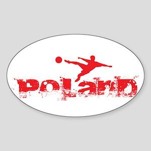 Poland Forever Sticker (Oval)
