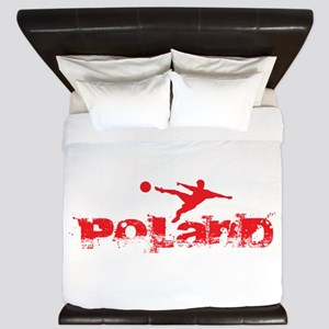 Poland Forever King Duvet