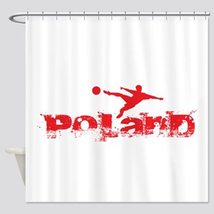 Poland Forever Shower Curtain