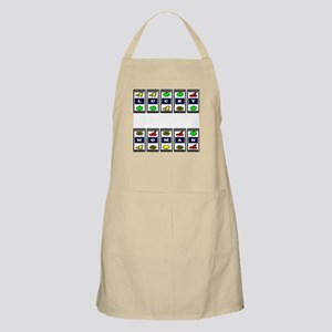 Lucky Woman Slots (Color) BBQ Apron