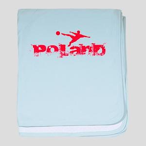 Poland Forever baby blanket