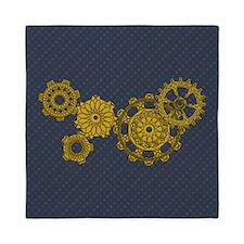 Woven Clockwork Queen Duvet