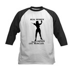 Real Women Kids Baseball Jersey