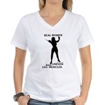 Real Women Women's V-Neck T-Shirt