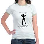 Real Women Jr. Ringer T-Shirt