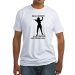Real Women Fitted T-Shirt