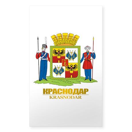 Krasnodar COA Sticker (Rectangle)