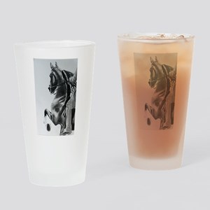 Saddlebred Drinking Glass