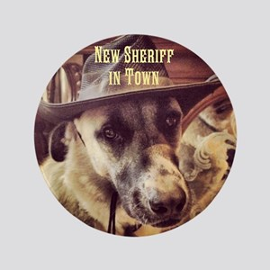 """New Sheriff 3.5"""" Button"""