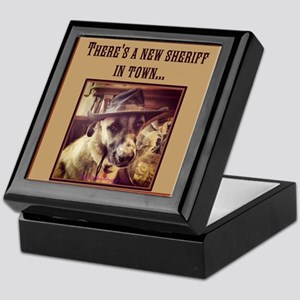 New Sheriff Keepsake Box