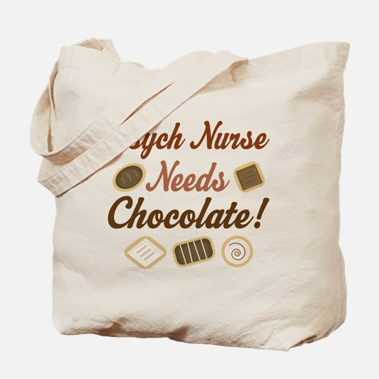 Psych Nurse Gift Funny Tote Bag