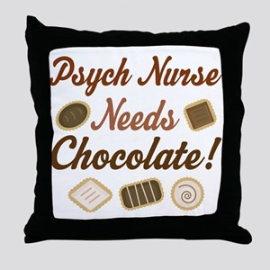 Psych Nurse Gift Funny Throw Pillow
